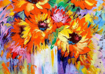 MARINA WIRTZ SUNFLOWERS