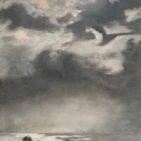 Cloudy, Stormy Gulf Sunrise