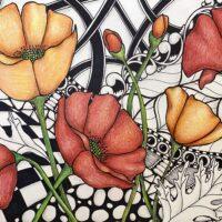 Leigh Sandlin: Inktense & Micron Pen