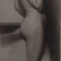 Anwesha Biswas: Master Copies in Charcoal