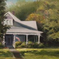 America 9×12 oil on canvas panel 2015