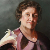 Carolyn P. Gibson, Wife of the Artist""