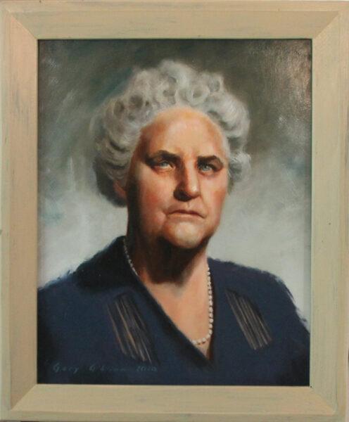 Mrs Nancy Ella LaMastus ca 1945 20×16