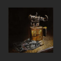 Rest Well Earned 12 x 12 oil on gallery wrap 3 20