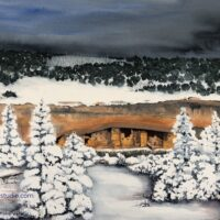 Mesa Verde in the Snow