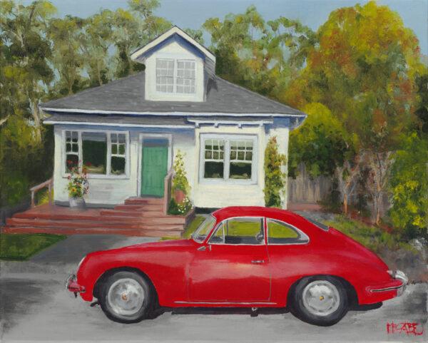 """Elke"" the Porsche"