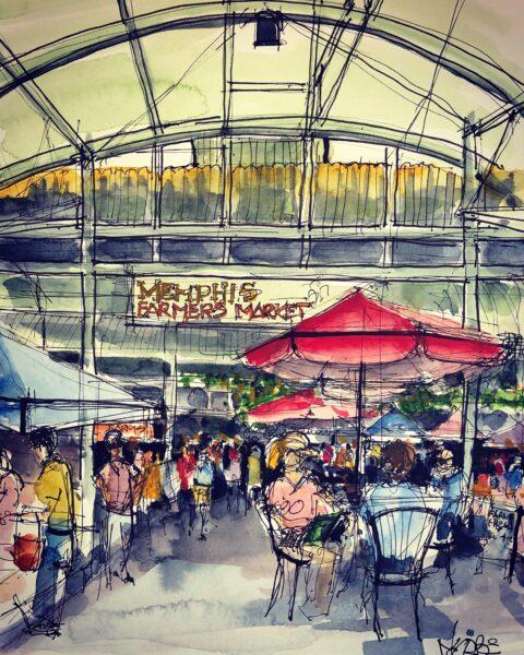 Farmer's Market in Memphis
